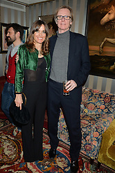 OLIVER GILMOUR and NICKY DINGWALL-MAIN at a private screening of 'A Postcard From Istanbul' directed by John Malkovich In Collaboration With St. Regis Hotels & Resorts held at 5 Hertford Street, London on 3rd March 2015