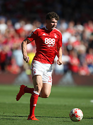Oliver Burke of Nottingham Forest in action - Mandatory by-line: Jack Phillips/JMP - 06/08/2016 - FOOTBALL - The City Ground - Nottingham, England - Nottingham Forest v Burton Albion - EFL Sky Bet Championship