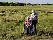 Harold and Jean Lawson still live on land their grandparents homesteaded in Oklahoma before statehood. They live on 640 acres south of Yukon at 2525 S. Richland Road. It was a dairy farm before Harold retired.