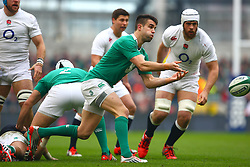 Conor Murray in action for Ireland - Photo mandatory by-line: Ken Sutton/JMP - Mobile: 07966 386802 - 01/03/2015 - SPORT - Rugby - Dublin - Aviva Stadium - Ireland v England - Six Nations