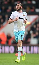 Andy Carroll of West Ham United - Mandatory by-line: Alex James/JMP - 11/03/2017 - FOOTBALL - Vitality Stadium - Bournemouth, England - Bournemouth v West Ham United - Premier League