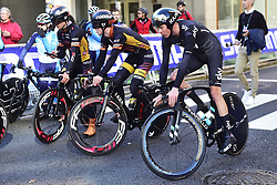September 16, 2017 - Bergen, Norway - BERGEN, NORWAY - SEPTEMBER 16 : FROOME Christopher (GBR) Rider of Team SKY pictured during the reconnaisance of the Team Time Trial 2017 World Road Championship cycling race on September 16, 2017 in Bergen, Norway, 16/09/2017 (Credit Image: © Panoramic via ZUMA Press)