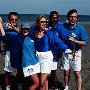 Sterrenslag 1996 Texel, Jaap jongbloed, ?, Manon Thomas, Carlo Strijk, ?