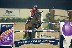 Kraut Laura, (USA), Nouvelle<br /> Longines FEI World Cup™ Jumping Final III round 1<br /> Las Vegas 2015<br />  © Hippo Foto - Dirk Caremans<br /> 19/04/15