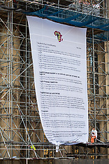 2020-11-12 ACTR Africans Rising Parliament Banner Drop