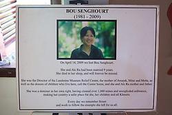 Bou Senghourt Exhibit At Land Mine Museum