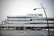 Nederland, Hilversum, 1-11-2014Het gebouw van de NOS in het mediapark.FOTO: FLIP FRANSSEN/ HOLLANDSE HOOGTE