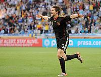 Fotball<br /> VM 2010<br /> Tyskland v Argentina<br /> 03.07.2010<br /> Foto: Witters/Digitalsport<br /> NORWAY ONLY<br /> <br /> 0:3 Jubel Arne Friedrich (Deutschland)<br /> Fussball WM 2010 in Suedafrika, Viertelfinale Argentinien - Deutschland