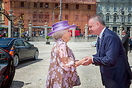 Prinses Beatrix opent tentoonstelling European Stars: Miró & Cobra in Bratislava