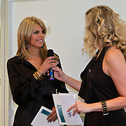 NLD/Amsterdam/20100521 - Uitreiking Dutch Model Awards 2010, Kim Kötter en Berber Esha Janssen