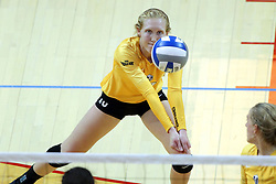 07 October 2017:  Allison Ketcham during a college women's volleyball match between the Crusaders of Valparaiso and the Illinois State Redbirds at Redbird Arena in Normal IL (Photo by Alan Look)