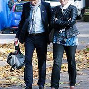 NLD/Laren/20121031 - Uitvaart Joop Stokkermans, Cor Bakker en partner Nienke