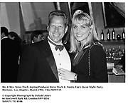Mr. & Mrs. Steve tisch  during Producer Steve Tisch &  Vanity Fair's Oscar Night Party,<br />Mortons,  Los Angeles. March 1994.  Film 94557/15<br /> <br />© Copyright Photograph by Dafydd Jones<br />66 Stockwell Park Rd. London SW9 0DA<br />Tel 0171 733 0108.