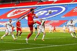 Kieffer Moore of Wales - Rogan/JMP - 06/09/2020 - FOOTBALL - Cardiff City Stadium - Cardiff, Wales - Wales v Bulgaria - UEFA Nations League Group B4.