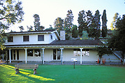 Museum, Will Rodgers State Park, Santa Monica Mountains, Los Angeles County, California (LA)