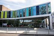 Runnymede Civic Centre, the location of Runnymede Borough Council, is pictured on 10 September 2020 in Addlestone, United Kingdom. A report published by the TaxPayers' Alliance (TPA) has revealed that English councils which invested heavily in commercial property since 2015 may lose millions of pounds in yields due to COVID-19, with Runnymede Borough Council facing a shortfall of £826,000 on total investments valued at £368 million.
