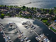Nederland, Flevoland, Zeewolde, 21–06-2020; Zeewolde, Jachthaven Wolderwijd - Bonshaven.<br /> <br /> luchtfoto (toeslag op standaard tarieven);<br /> aerial photo (additional fee required)<br /> copyright © 2020 foto/photo Siebe Swart