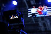 Boxen: AIBA Box-WM, Finale, Hamburg, 02.09.2017<br /> TV Kamera, Feature, Medien<br /> © Torsten Helmke