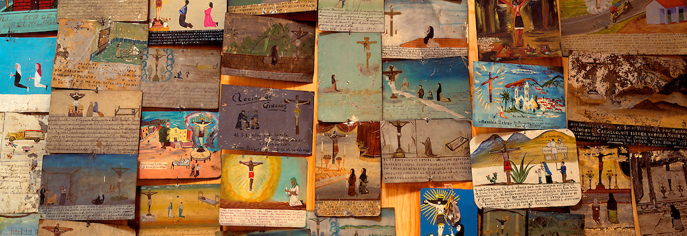MEXICO, COLONIAL CITIES Guanajuato; retablos (ex-votos)
