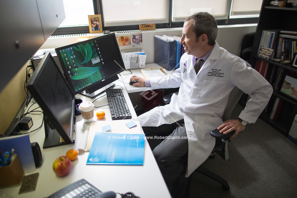 Icahn School of Medicine at Mount Sinai..Photo by Robert Caplin..