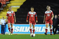 - Photo mandatory by-line: Dougie Allward/JMP - Mobile: 07966 386802 - 13/11/2014 - SPORT - Football - Bristol - Ashton Gate - Bristol Academy Womens FC v FC Barcelona - Women's Champions League