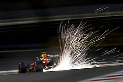 April 7, 2018 - Sakhir, Bahrain - VERSTAPPEN Max (ned), Aston Martin Red Bull Tag Heuer RB14, action during 2018 Formula 1 FIA world championship, Bahrain Grand Prix, at Sakhir from April 5 to 8  (Credit Image: © Hoch Zwei via ZUMA Wire)