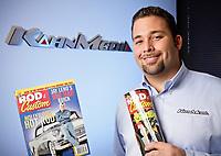 Dan Kahn of Kahn Media in his office in Reseda, CA. Feb. 10, 2010.  Photo by David Sprague