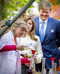 King Willem Alexander and Princess Alexia attending King's Day Celebrations in Groningen, Netherlands, on April 27, 2018. Photo by Robin Utrecht/ABACAPRESS.COM
