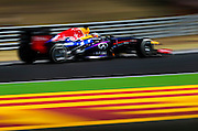 Hungarian Grand Prix 2013<br /> our best selection from Award winning Photographer Darren Heath.<br /> Vettel during the race<br /> ©Darren Heath/Exclusivepix