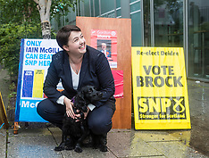 Ruth Davidson casts her vote | Edinburgh | 8 June 2017