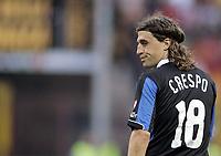 "Hernan Crespo (Inter)<br />Final ""Tim Cup"" 2006-2007 <br />17 May 2007<br />Inter-Roma (2-1)<br />""Giuseppe Meazza"" Stadium-Milano-Italy<br />Photographer:Jennifer Lorenzini INSIDE"