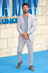 © Licensed to London News Pictures. 16/07/2018. London, UK. Dominic Cooper attends the Mamma Mia! Here We Go Again World Film Premiere at Eventime Apollo Hammersmith. Photo credit: Ray Tang/LNP