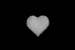 Jul. 26, 2012 - Beads in a heart shape (Credit Image: © Image Source/ZUMAPRESS.com)