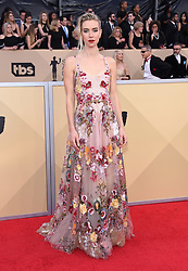 24th Annual Screen Actors Guild Awards held at the Shrine Exposition Center. 21 Jan 2018 Pictured: Vanessa Kirby. Photo credit: OConnor-Arroyo / AFF-USA.com / MEGA TheMegaAgency.com +1 888 505 6342