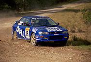 Michael Thompson & Gordon Klebba - Subaru Impreza WRX - Saxon Safari Tasmania - ARC- 11th-12th September 1999