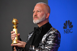 January 6, 2019 - Los Angeles, California, U.S. - Ryan Murphy in the Press Room during the 76th Annual Golden Globe Awards at The Beverly Hilton Hotel. (Credit Image: © Kevin Sullivan via ZUMA Wire)