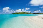 Beach, Rangiroa, French Polynesia