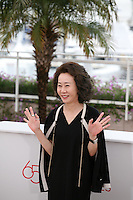 Youn Yuh-jung at the DA-REUN NA-RA-E-SUH (IN ANOTHER COUNTRY) film photocall at the 65th Cannes Film Festival. Monday 21st May 2012 in Cannes Film Festival, France.