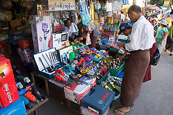 Tool Street Market Near Gyee Zai Market