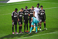 Illustration bombe arbitre  - 04.12.2014 - Lyon / Reims - 16eme journee de Ligue 1  <br /> Photo : Jean Paul Thomas / Icon Sport