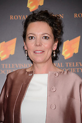 Olivia Colman attends the RTS Programme Awards. London, United Kingdom. Tuesday, 18th March 2014. Picture by Chris Joseph / i-Images