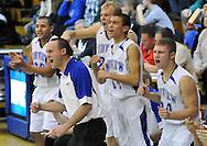 Elyria Catholic at Midview boys varsity basketball on December 3, 2010 at Midview High School.