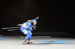 February 11, 2018 - Pyeongchang, Gangwon, South Korea - Giuseppe Montello ofItaly at Mens 10 kilometre sprint Biathlon at olympics at Alpensia biathlon stadium, Pyeongchang, South Korea on February 11, 2018. (Credit Image: © Ulrik Pedersen/NurPhoto via ZUMA Press)