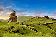 The Armenian church of St Gregory of the Abughamrents, Ani archaelogical site on the Ancient Silk Road ,  Anatolia, Turkey .<br /> <br /> If you prefer to buy from our ALAMY PHOTO LIBRARY  Collection visit : https://www.alamy.com/portfolio/paul-williams-funkystock/ani-turkey.html<br /> <br /> Visit our TURKEY PHOTO COLLECTIONS for more photos to download or buy as wall art prints https://funkystock.photoshelter.com/gallery-collection/3f-Pictures-of-Turkey-Turkey-Photos-Images-Fotos/C0000U.hJWkZxAbg