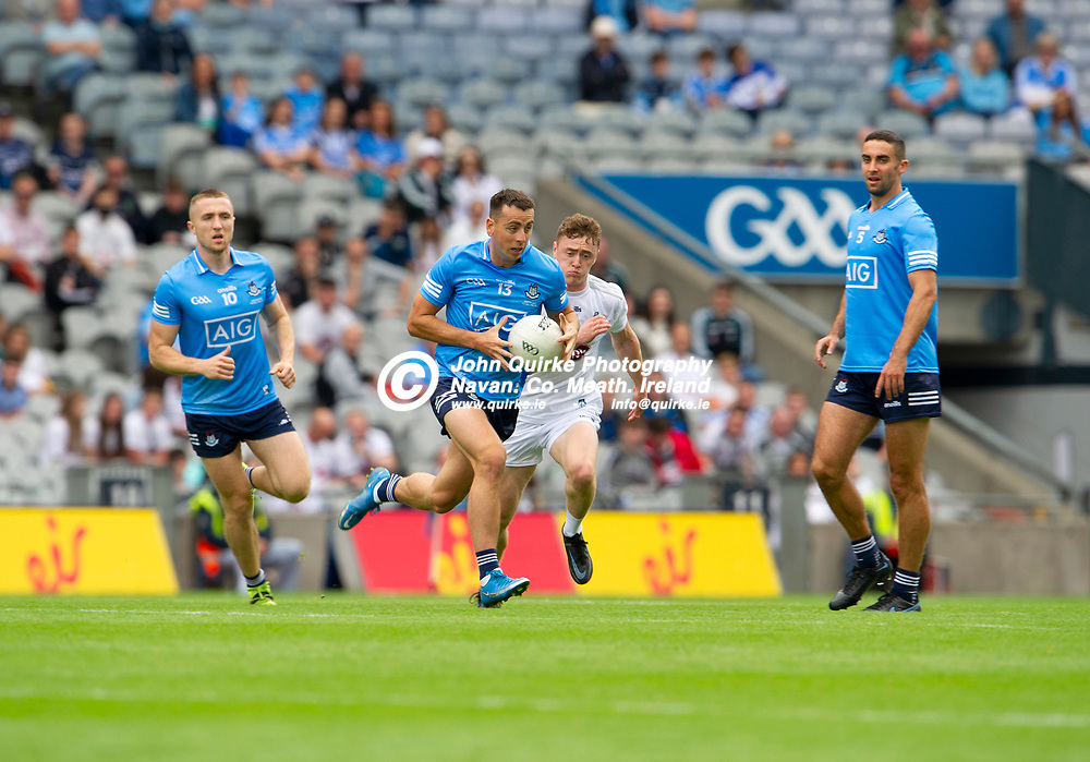 01–08-21.<br /> Dublin v Kildare - Leinster Senior Football Championship Final at Croke Park.<br /> Cormac Costello, Dublin in action against Kildare in the Leinster Senior Football Championship Final.<br /> Photo: John Quirke / www.quirke.ie<br /> ©John Quirke Photography, 16 Proudstown Road, Navan. Co. Meath. (info@quirke.ie / 046-9028461 / 087-2579454).