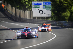 June 4, 2017 - Le Mans, France - 8 TOYOTA GAZOO RACING (JPN) TOYOTA TS050 HYBRID LMP1 ANTHONY DAVIDSON (GBR) KAZUKI NAKAJIMA (JPN) SEBASTIEN BUEMI  (Credit Image: © Panoramic via ZUMA Press)