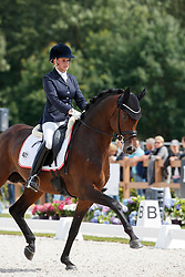 Hesse-Wadenspanner Geertje, GER, United Europ<br /> Longines FEI/WBFSH World Breeding Dressage Championships for Young Horses - Ermelo 2017<br /> © Hippo Foto - Dirk Caremans<br /> 04/08/2017