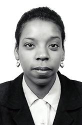 Portrait of woman UK 1990s