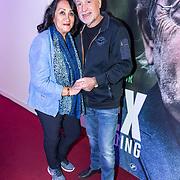 NLD/Bussum/20190306  - boekpresentatie 50 jaar Nederlandse popcultuur van Lex Harding, George Baker en partner Blanche