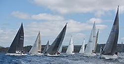 Clyde Cruising Club's Scottish Series 2019<br /> 24th-27th May, Tarbert, Loch Fyne, Scotland<br /> <br /> Day 1 GBR5005C, Reflection, RNCYC, Elan GT5, GBR9740R, Sloop John T,CCC, Swan 40, 3361C, Salamander XXII,<br /> <br /> Credit: Marc Turner / CCC